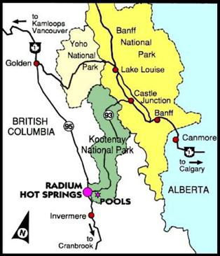 radium map